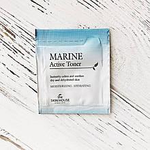 Пробник Тонер для лица с керамидами The Skin House Marine Active Toner, 2 мл