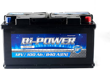 АКБ 6 ст 100 А (840EN) (0) Bi-Power Евро