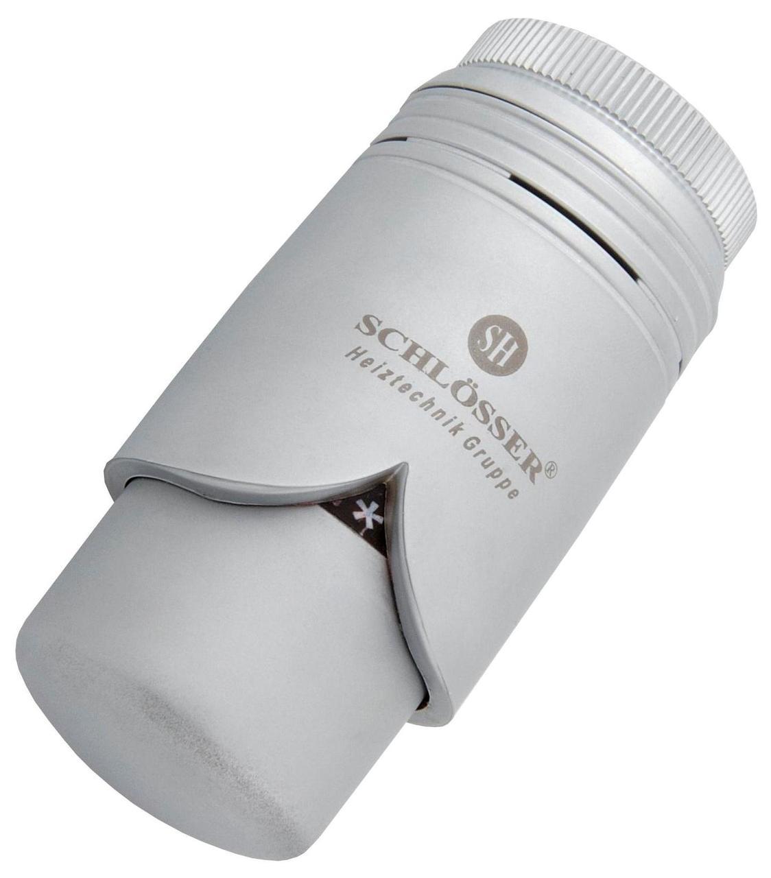 Термостатическая головка Schlosser HHt Brillant сатин