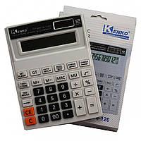 Калькулятор настольный №8876-120 12-разрядный (184х140мм)