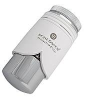Термостатическая головка Schlosser С Brillant Белая - Хром