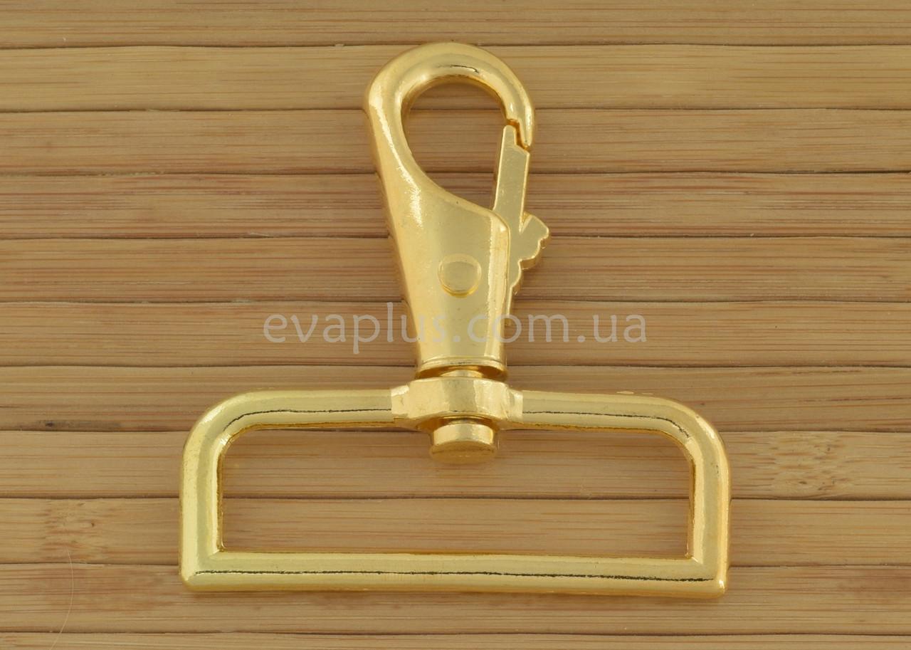 Карабин для сумки 50 мм. 150з (золото)