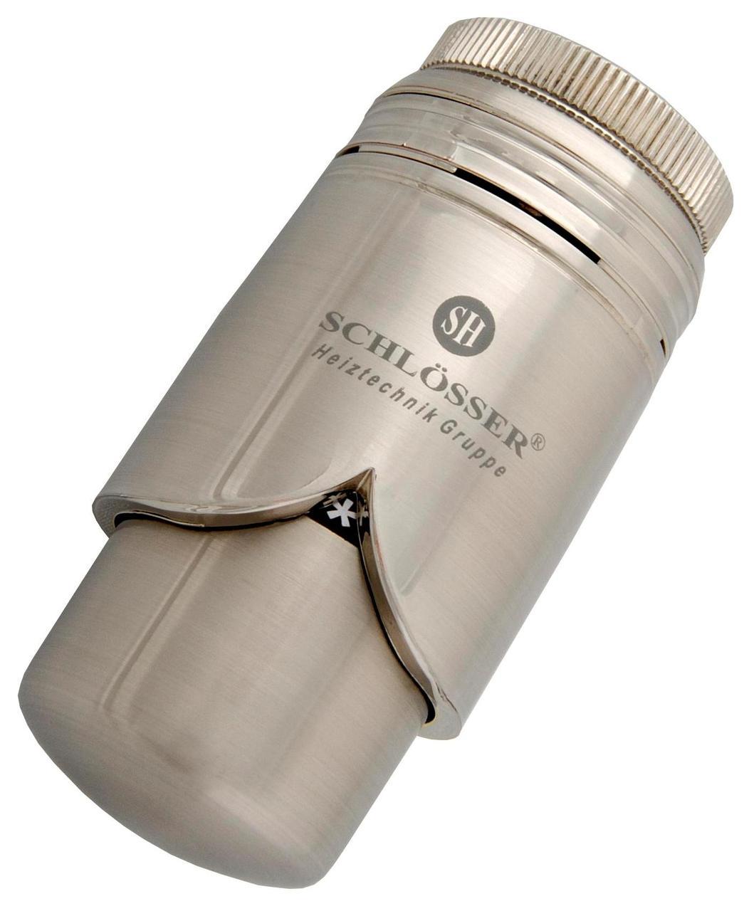 Термостатическая головка Schlosser C Brillant сталь