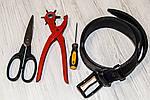 Как обрезать кожаный ремень своими руками