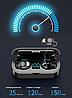 Беспроводные сенсорные наушники гарнитура с павербанком Amoi F9-touch - Фото