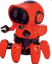 Интерактивный робот Tobi (игрушка музыкальная световая) 15х11,5 см, красный