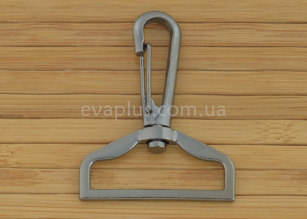 Карабин для сумки 38 мм. 238ТН (темный никель)