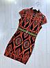 Шикарное платье. Цвет красный.синий.изумруд.беж  (5158), фото 3