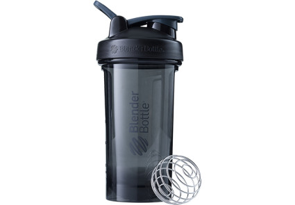 Спортивная бутылка-шейкер BlenderBottle Pro24 Tritan 710ml Black (ORIGINAL), фото 1
