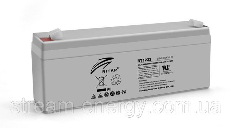 Аккумулятор AGM Ritar (12В -2,3Ач) RT1223