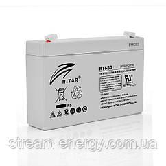 Акумулятор AGM Ritar (6В -8Ач) RT680
