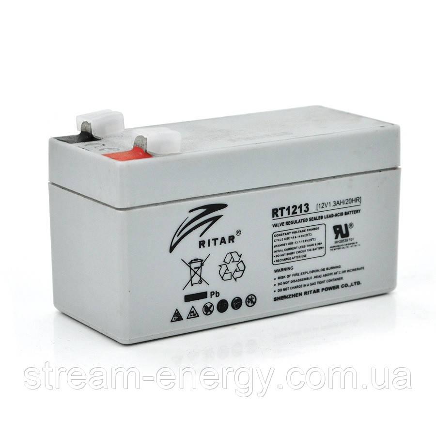 Аккумулятор AGM Ritar (12В -1,3Ач) RT1213