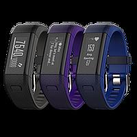 Фитнес браслет Garmin Vivosmart HR+,GPS, WW, Regular (Black,Purple,Blue), фото 1