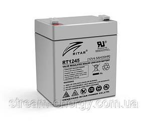 Акумулятор AGM Ritar (12В -4,5 Ач) RT1245