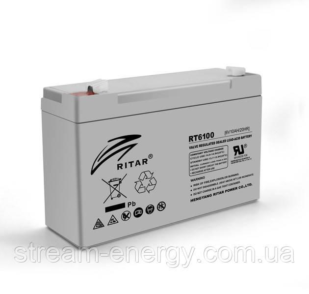 Аккумулятор AGM Ritar (6В -10Ач) RT6100