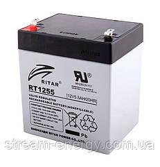 Акумулятор AGM Ritar (12В -5,5 Ач) RT1255