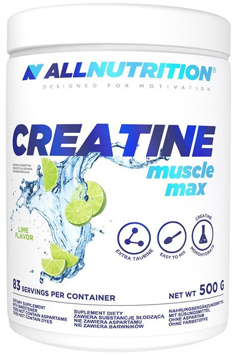 Креатин AllNutrition - Creatine Muscle Max (500 грамм)