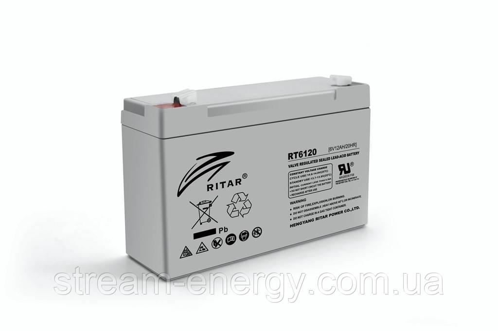 Аккумулятор AGM Ritar (6В -12Ач) RT6120A