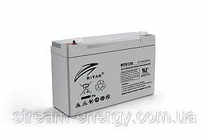 Акумулятор AGM Ritar (6В -12Ач) RT6120A