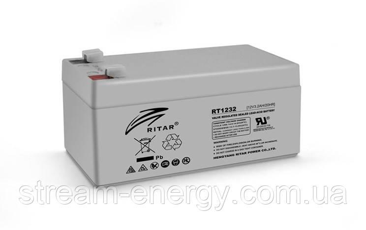 Аккумулятор AGM Ritar (12В -3,2Ач) RT1232