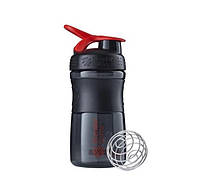 Спортивная бутылка-шейкер BlenderBottle SportMixer 590ml Black/Red (ORIGINAL), фото 1