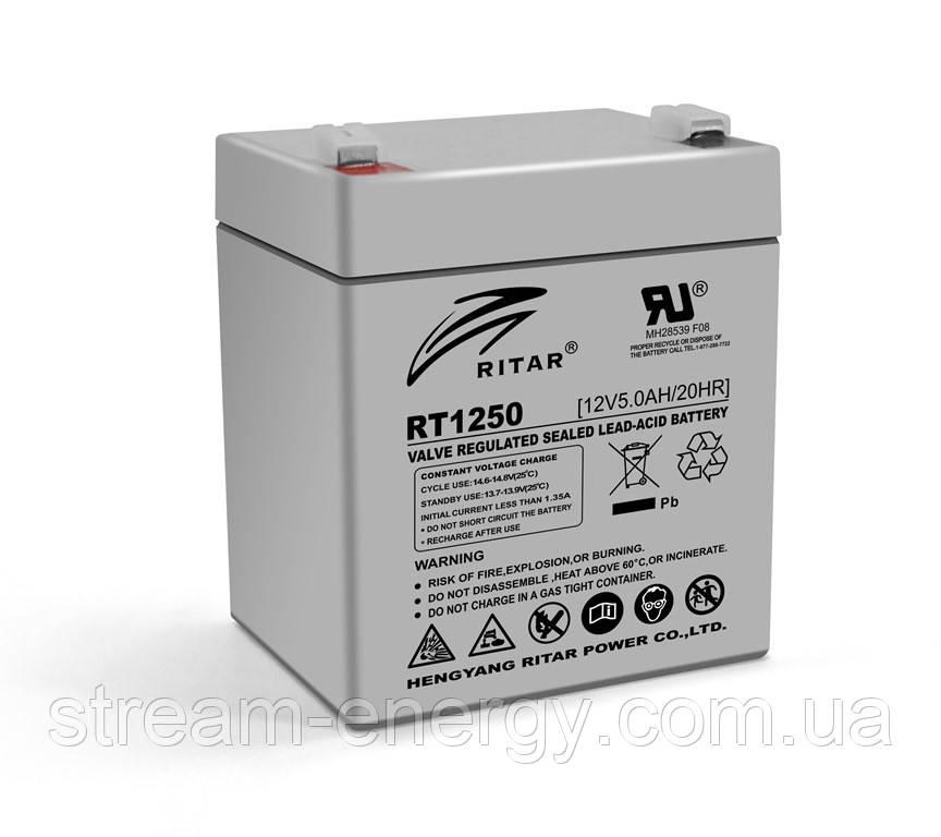 Аккумулятор AGM Ritar (12В -5Ач) RT1250