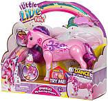 Інтерактивна іграшка Moose Little Live Pets Єдиноріг Sparkles, фото 5