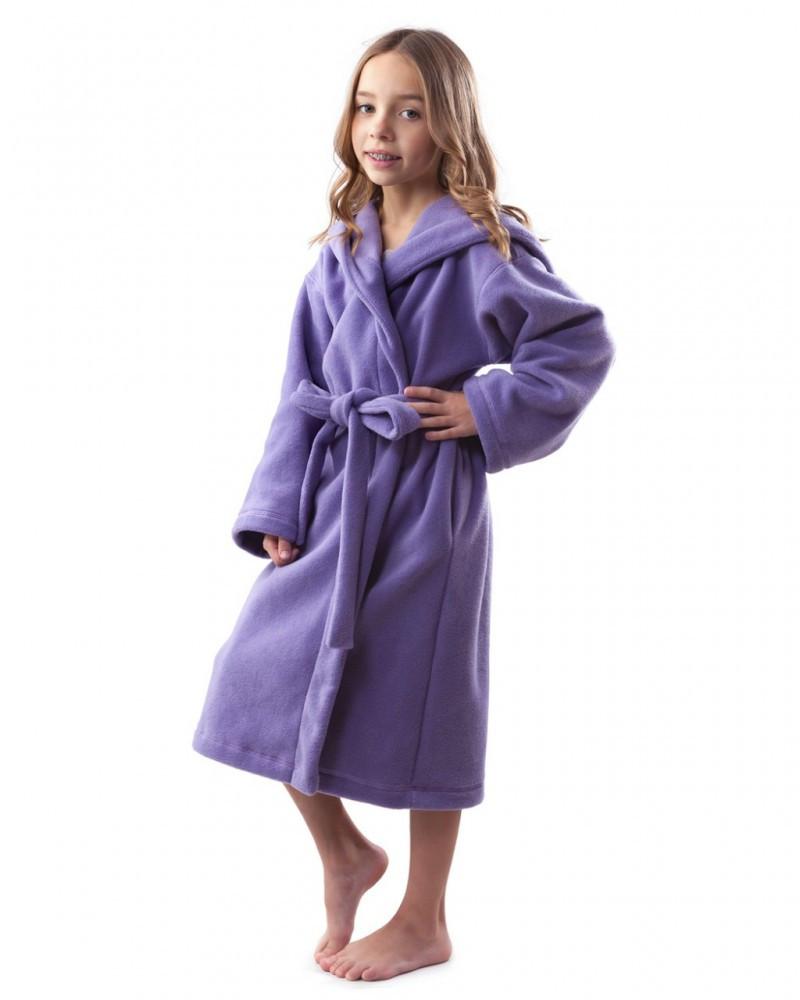 Теплий дитячий халат з флісу. Різні забарвлення