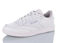 Женские кроссовки Restime кожаные белые, размеры в наличии ► [ 36 37 38 39 40 41 ]