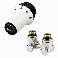 Комплект термостатический угловой Danfoss RAS-C+RLV-KS 1/2 (013G5278)