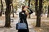 Женская кожаная сумка 47 синий флотар 01470103, фото 10
