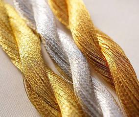 Нитки и шнуры для золотого шитья