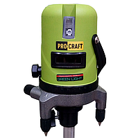 Лазерный уровень PROCRAFT LE-5D (зеленый диод)