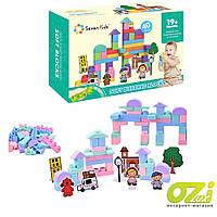 Мягкий конструктор Seven Kids 68042 40 ел