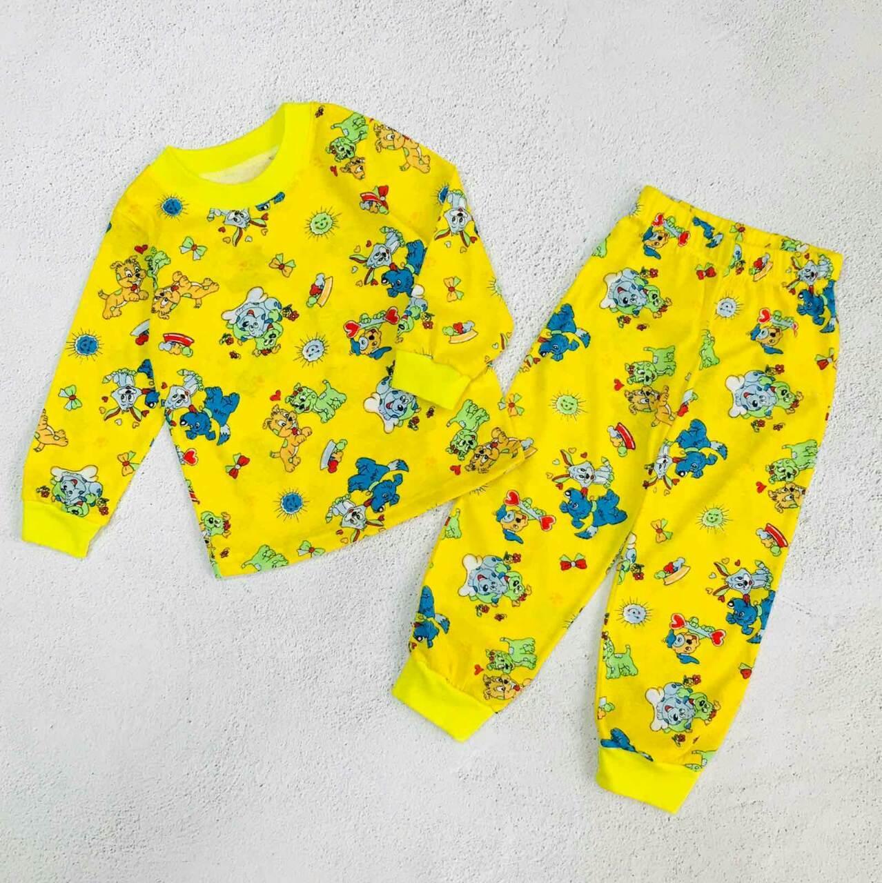 """Пижама детская """"Собачки"""", цвет: желтый"""