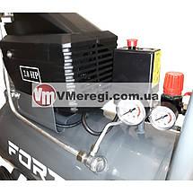 Компрессор поршневой воздушный ресивер 50 л. одноцилиндровый 1.5 кВт, фото 2