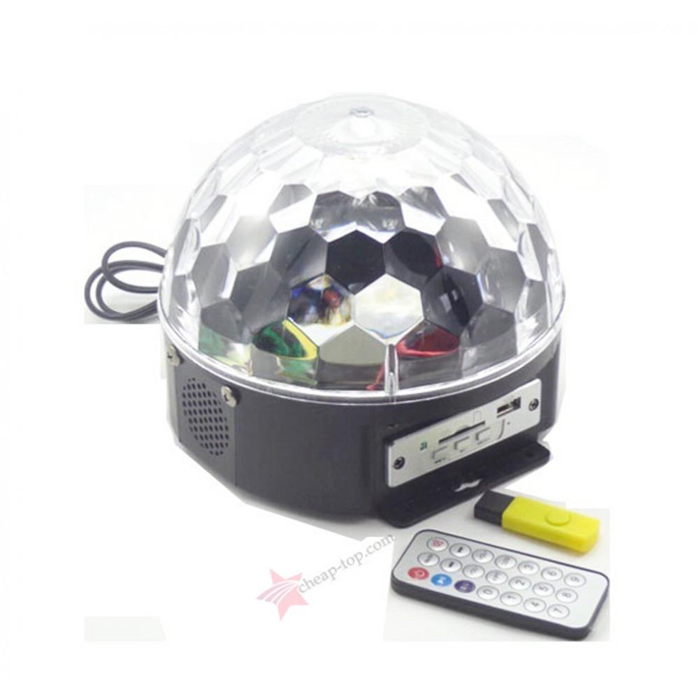 Диско шар LED Cristal Magic Ball Light (без mp3)