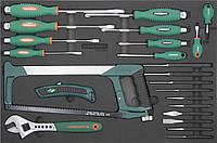 Набор инструмента, 25 предметов, EVA ложемент JONNESWAY D737125SV