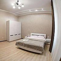 Спальный гарнитур  Ацтека 3Д (кровать, шкаф, 2 тумбы )