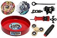 Игровой набор Beyblade Burst Арена + Trident + Doomscither + Mokuru + Spinner (000000004)