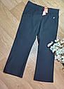 Стильные черные школьные брюки на девочку Marks&Spencer Оригинал (Размер  7-8 лет), фото 2