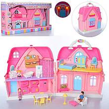 Детский игровой набор Bambi Домик BLD501 с фигурками и мебелью