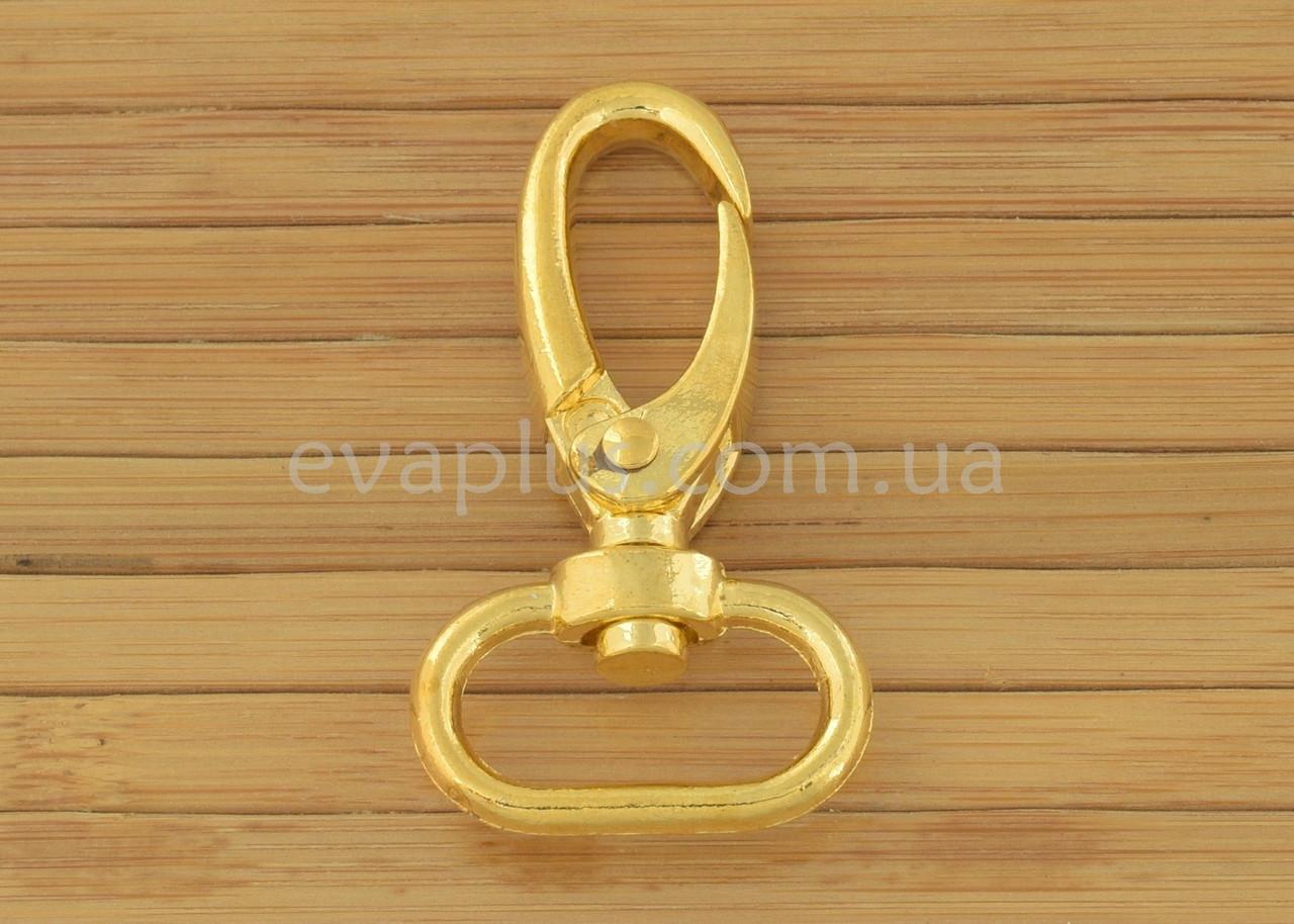 Карабин для сумки 20 мм. 420З (золото)