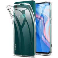 Ультратонкий 0,3 мм чехол для Huawei P Smart Pro 2019 прозрачный