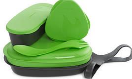 Набор посуды LIGHT MY FIRE LunchKit (6 предметов), зеленый