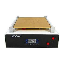 """Сепаратор 14""""  AIDA 918D (30 х 20 см) со встроенным компрессором для вакуумного способа фиксации стекла"""