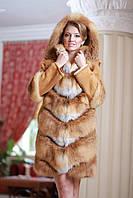 Шуба  жилет из лисы  Fox  fur coat and vest, фото 1