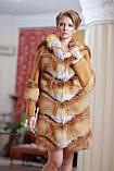 Шуба  жилет из лисы  Fox  fur coat and vest, фото 2