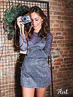 Женское стильное нарядное платье-комбинезон