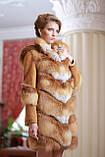 Шуба  жилет из лисы  Fox  fur coat and vest, фото 3